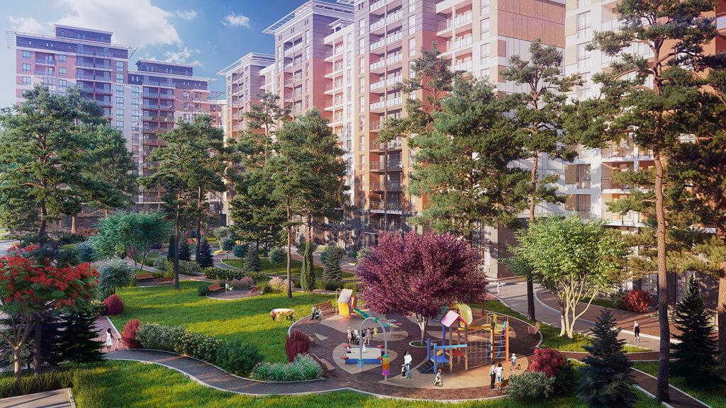 ЖК Krona Park, Бровары, проект