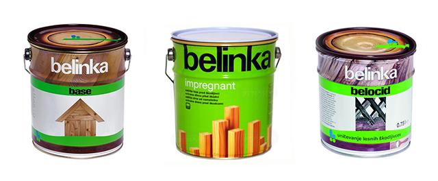 Антисептики Belinka - несколько базовых видов