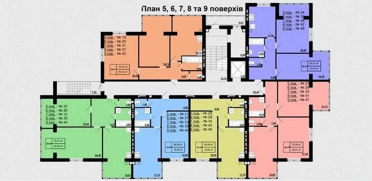 вул. Є. Коновальця, 2а (мікрорайон Північний), Ровно