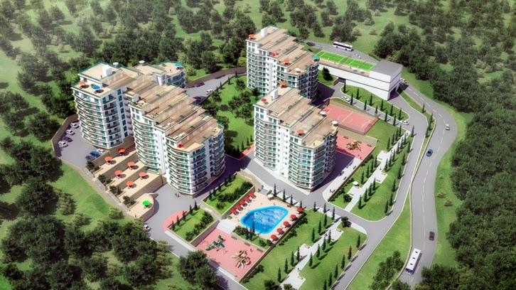 ЖК Gorizont plaza (ЖК Горизонт плаза) — пгт Виноградное, Бахчисарайское шоссе (г. Ялта)