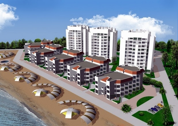 Черноморская набережная, Феодосия