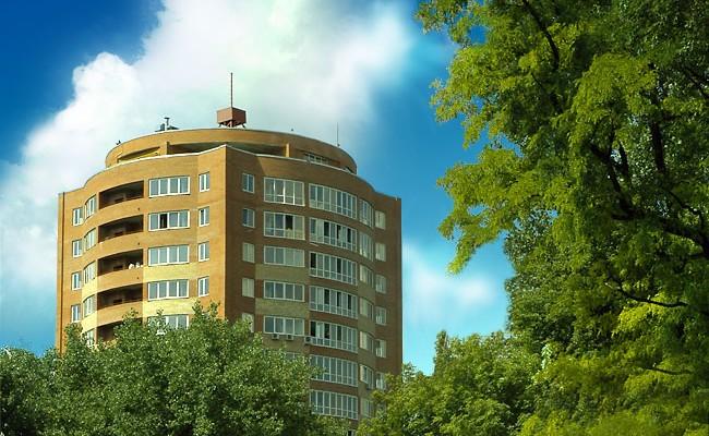 Административно-жилой комплекс Аркадиевская Башня, г. Днепропетровск, ул. Гоголя