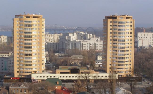 Административно-жилой комплекс Днепровский, г. Днепропетровск, ул. Баумана