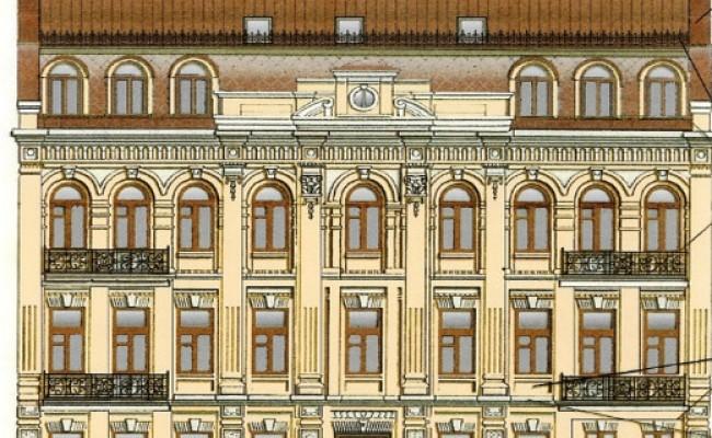 Жилой дом, г. Киев, ул. Златоустовская (Реставрация)