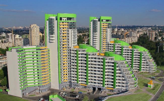 ЖК Парковый город, г. Киев, ул. Вышгородская (3 очередь)