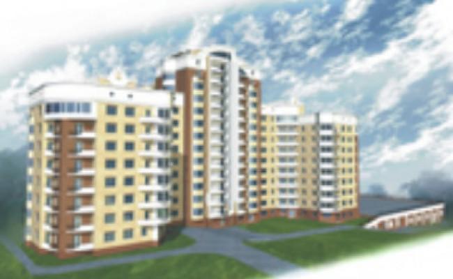 Проект жилого комплекса, г. Житомир, ул. Детской Комуны