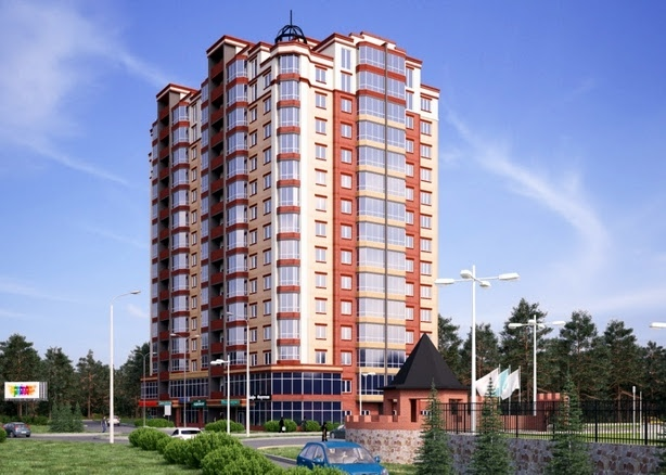 ЖД Панорамный 2 — ул. Суворова, 2д (г. Ирпень)
